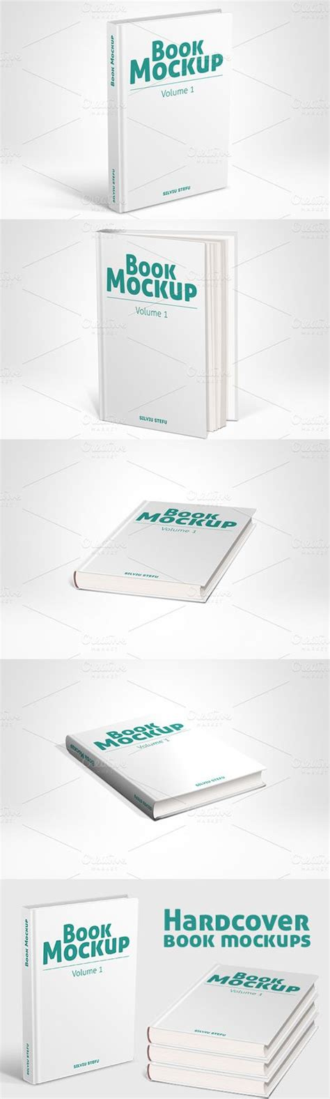 creativemarket hardcover book mockups  nulled php