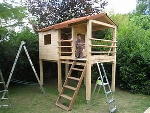 Comment Construire Une Cabane à écureuil : cabane en palette tuto jardin ~ Melissatoandfro.com Idées de Décoration