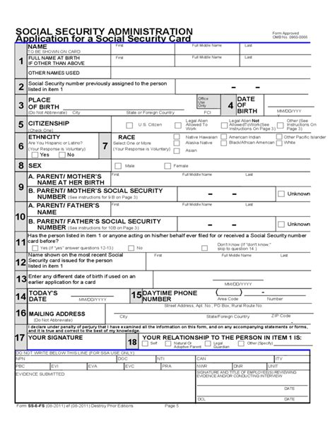 Maybe you would like to learn more about one of these? Application for a Social Security Card (Outside of the U.S ...