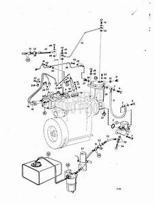 Volvo Penta Exploded View    Schematic Fuel System  A Md6a