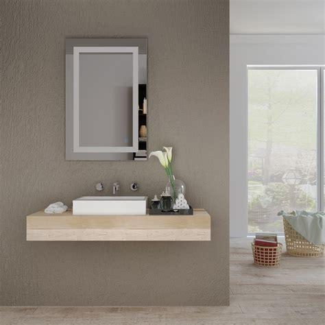 Vanity Lighted Mirrors - home sceva led lighted mirrors vanity bathroom frameless