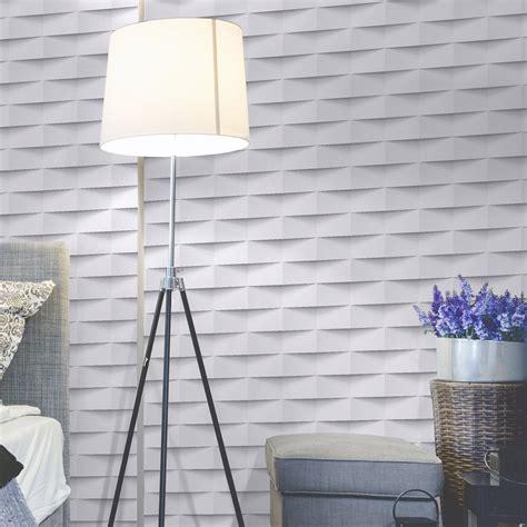 papier peint intissé cuisine papier peint intissé 3d origami blanc leroy merlin