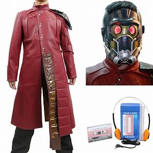 Star Lord Costume Guardians of the Galaxy Star Lord Coat ...