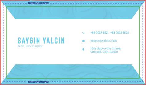 clean modern business card template freedownloadpsdcom