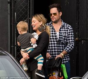It's a family affair! Hilary Duff and Mike Comrie dote ...