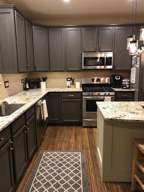 sherwin williams urban bronze kitchen cabinets original