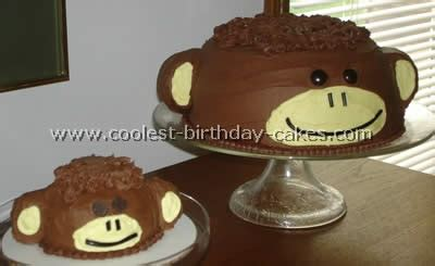Monkey Birthday Cake Template by Coolest Monkey Birthday Cake Ideas And Decorating Techniques