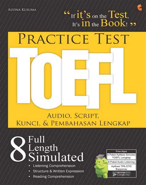 The toefl ibt® listening section is designed to measure your ability to understand conversations and lectures in english. Kunci Jawaban Toefl Listening Comprehension - Guru Paud