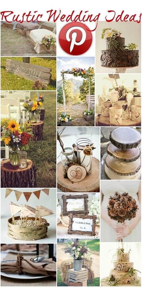 wedding ideas rustic wedding crafts