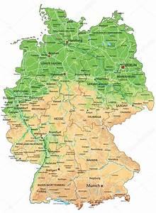 Deutschland Physische Karte : deutschland physische karte mit beschriftung stockvektor delpieroo 76114305 ~ Watch28wear.com Haus und Dekorationen