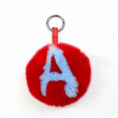Alphabet Keychains Letter Wholesale Keychain Ladies Keyring