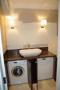 Waschmaschine In Küche Integrieren : waschmaschine unter waschbecken einbauen wohn design ~ Markanthonyermac.com Haus und Dekorationen