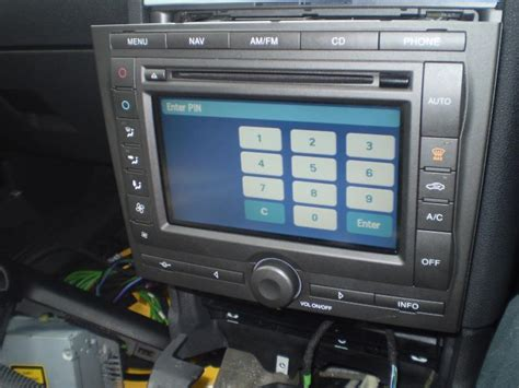 touchscreen sat nav facelift retro fitting www fordwiki co uk
