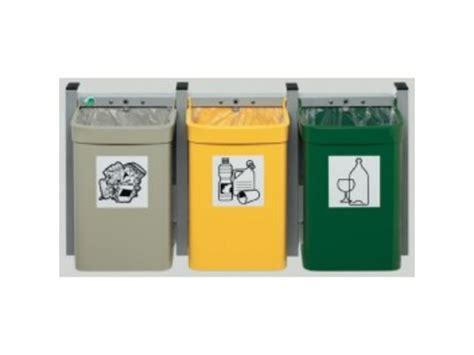 bureau des guides poubelle murale pour tri sélectif contact distribution