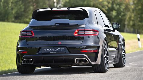 Porsche Macan Wallpapers by 2015 Porsche Macan By Mansory Wallpapers And Hd Images