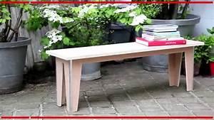Fabriquer Un Banc De Jardin Original : fabriquer son banc de jardin mon projet bricolage youtube ~ Melissatoandfro.com Idées de Décoration