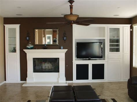 white entertainment center   socal home