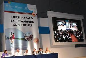 Multi-Hazard Early Warning Conference: unite in the first ...