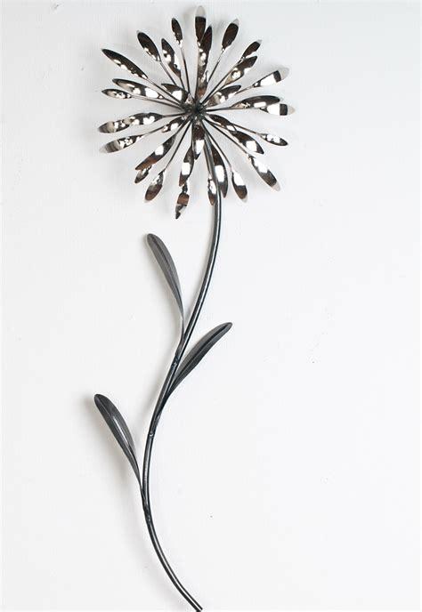 wanddeko wandbild metall deko bild artikel blume bl 252 te wandekoration wandschmuck ebay