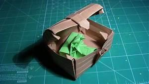 Tutorial Origami Treasure Chest  Robin Glynn