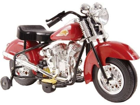 Kids Little 1948 Indian Ride On Power Motorcycle Toy