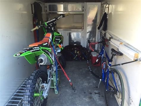cargo trailer conversion floor help setting up a trailer moto related motocross