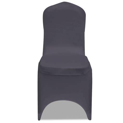 housse de chaise extensible pas cher acheter vidaxl housse de chaise extensible 6 pcs