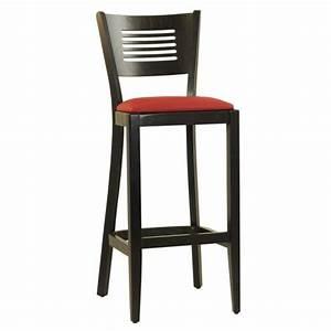 Chaise De Bar Rouge : chaise de bar en bois couleur rouge czh 216 r one mobilier ~ Teatrodelosmanantiales.com Idées de Décoration