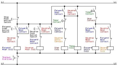 Electrical Schematic Diagram For The Control Circuit