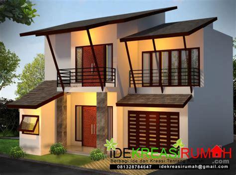 desain rumah  model atap anti bocor ide kreasi rumah