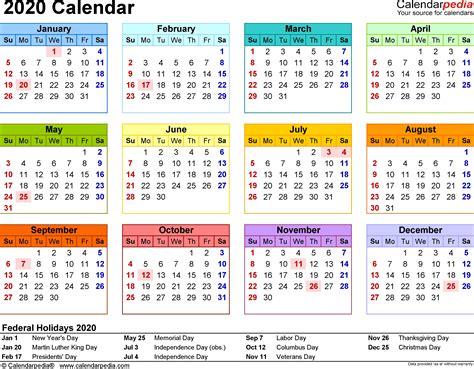 calendar showing bank holidays calendar template