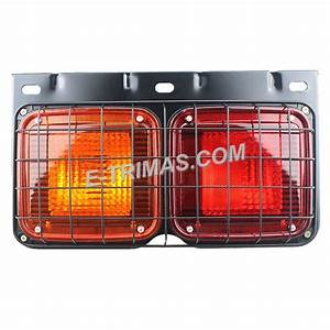 Hino Fuso Truck Lorry Rear Tail Light Lamp With Metal