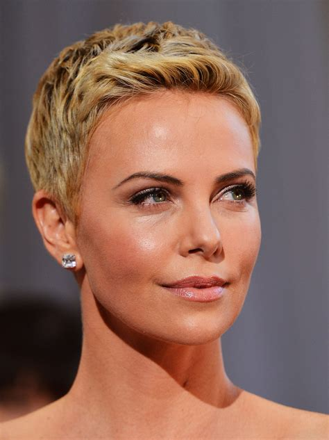 style bistro short hairstyles more pics of charlize theron pixie 46 of 86 short