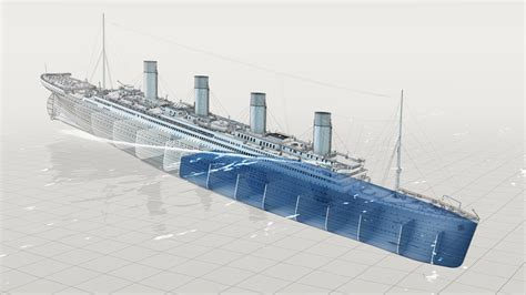 titanic sinking animation 3d the riddle of the titanic 2011 olivier michon