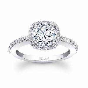 barkev39s halo engagement ring 7838l With halo wedding ring