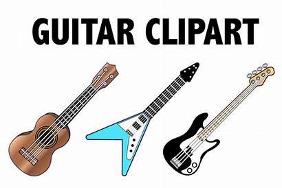 Guitar Clipart Eyes Mine Cart Graphic Creative