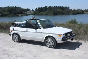 1980 Volkswagen Rabbit Convertible  Mint Low Miles