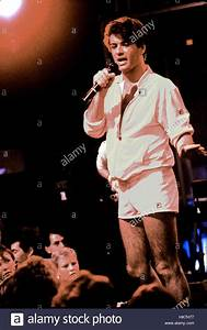 Wham - George Michael and Andrew Ridgeley performing live ...