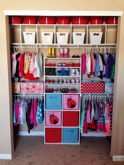 Small Baby Closet Organization Ideas by Closet Organization Bedroom In 2019