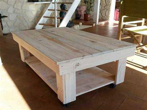 plateau de bureau en verre sur mesure 17 idées pour fabriquer une table basse palette deco cool