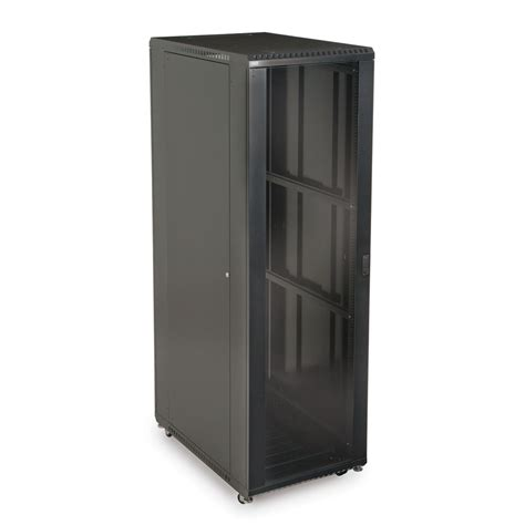 glass door server cabinet 42u linier server cabinet glass solid doors 36 quot depth