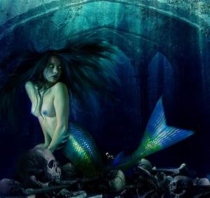 Evil Mermaid Makeup Fantasy Shoot Pictures