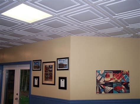 Ceilume Ceiling Tiles by Ceilume S Stratford Ceiling Tiles In White Remodel Ideas