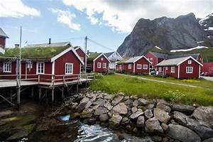 Häuser In Norwegen : traditionelle h user in lofoten norwegen stockfoto bizoon 86324064 ~ Buech-reservation.com Haus und Dekorationen