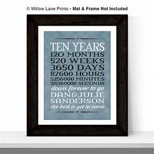 10 year anniversary gift for men 10th wedding by With 10 year wedding gift