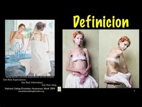anorexia nerviosa espanol youtube