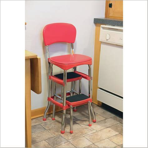 Cosco Counter Chair Step Stool   Chairs : Home Decorating
