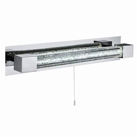 6664cc chrome led bar wall light the lighting superstore