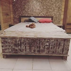 Coffre Pied De Lit : arrivage des meubles indiens pour un int rieur original ~ Teatrodelosmanantiales.com Idées de Décoration