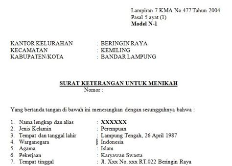contoh surat izin suami  visa  bahasa inggris